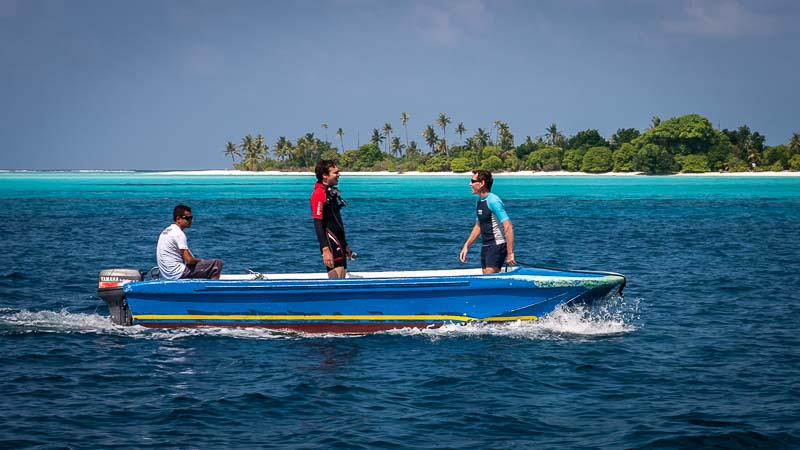 From NOAH to Innafushi on the dingy