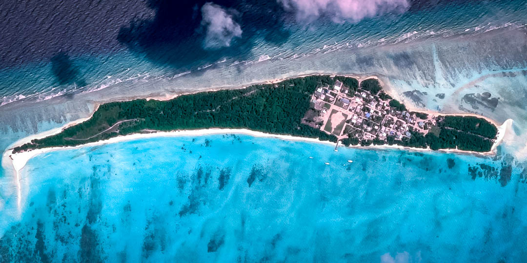 Satellite image of Fulhadoo from Google Maps