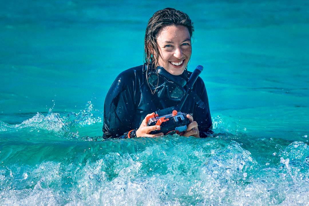 Sarah Hight communications Reefscapers Maldives